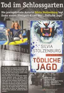 Plakat Tödliche Jagd_Silvia Stolzenburg